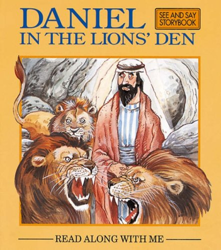 9781841353784: Daniel in the Lion's Den (Read Along with Me Bible Stories Series 2)