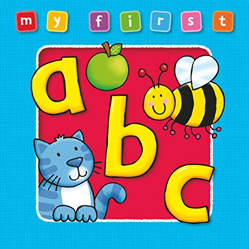 9781841354187: My First ABC Board Book: Bright and Colorful First Topics Make Learning Easy and Fun. For Ages 0-3.