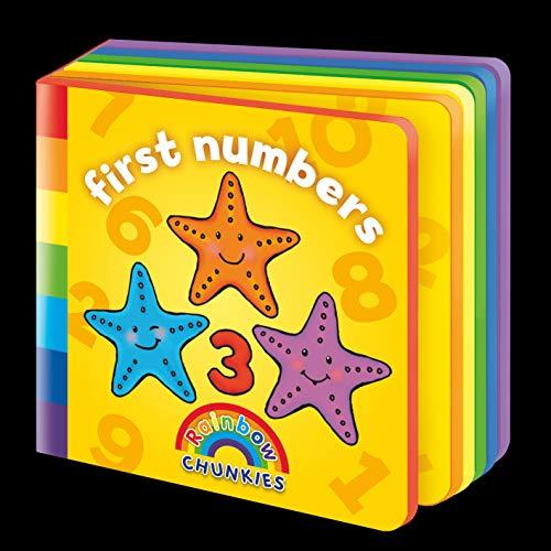 9781841357218: First Numbers (Rainbow Chunkies)