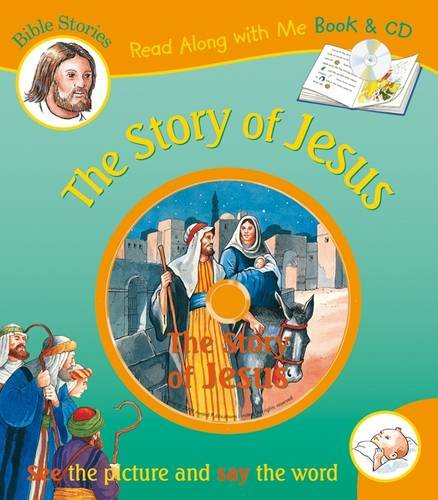 9781841357447: The Story of Jesus (Bible Stories Read Along With Me Book & CD)