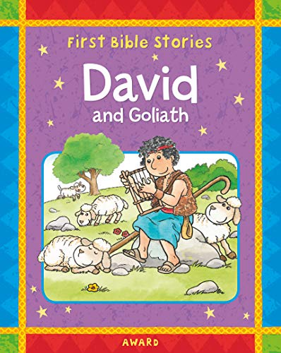 9781841358093: David and Goliath: A Favorite Old Testament Bible Story, Retold for Young Children (Award First Bible Stories)