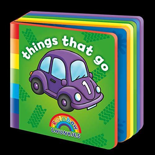 9781841358550: Things That Go (Rainbow Chunkies)