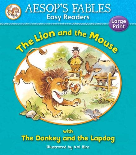 9781841359533: The Donkey and the Lapdog: with The Lion and the Mouse (Aesop's Fables Easy Readers)