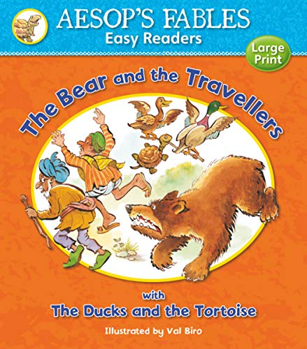 9781841359595: The Bear and the Travellers: with The Ducks and the Tortoise (Aesop's Fables Easy Readers)