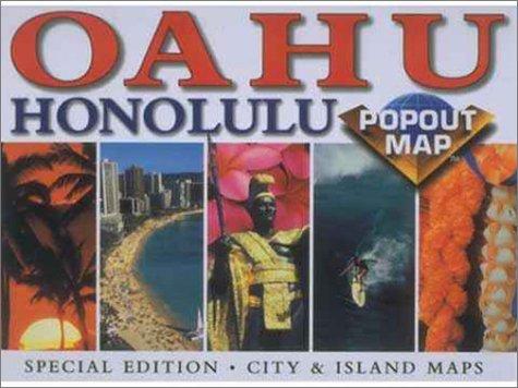 9781841390178: Popout-Popout O'Ahu/Honolulu (Popout Map)