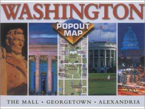 9781841390208: Washington D.C. Popout Map