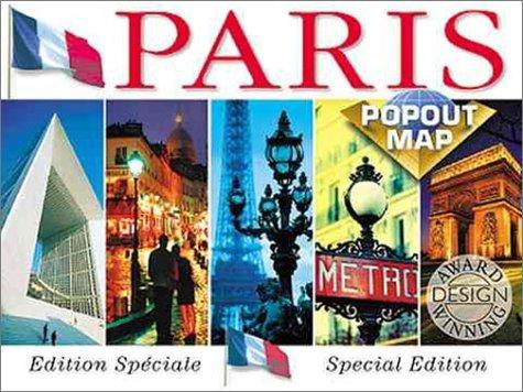 Paris Popout Map (Europe Popout Maps): Map Group
