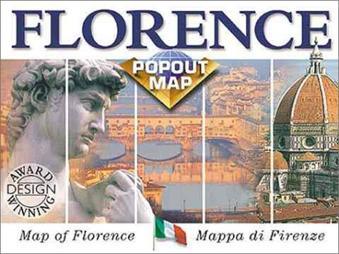 9781841390239: Florence Popout Map: Map of Florence/Mappa Di Firenze : Double Map (Europe Popout Maps)
