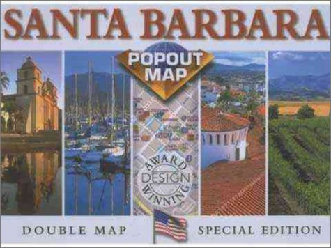 Santa Barbara County Popout Map (Popout Map): Group, The Map
