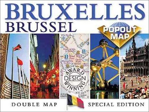 Brussels Bruxelles PopOut Map (Double Map, Special Edition): CM Cartographics