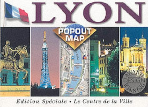 9781841391298: Lyon (Europe Popout Maps)