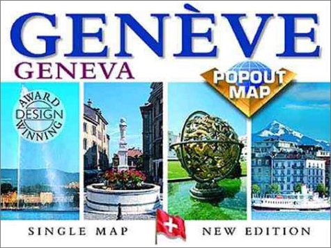 9781841391519: Geneva Popout Map: Double Map : Special Edition (Europe Popout Maps)