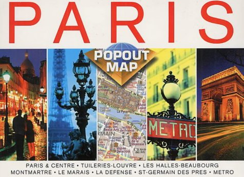 9781841392615: Paris (Europe Popout Maps)