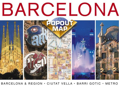 9781841393490: Barcelona (Europe Popout Maps)