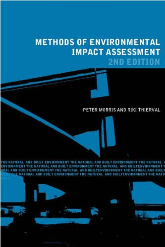 9781841420127: Methods Environ Impact Assessm (The Natural and Built Environment Series)