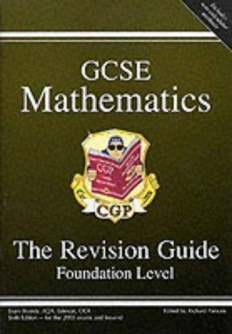 9781841460116: GCSE Mathematics Revision Guide: Foundation