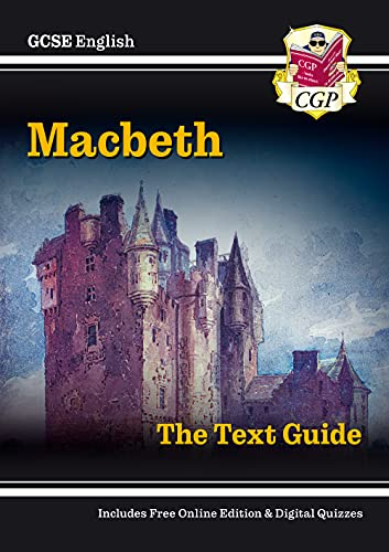 9781841461168: Grade 9-1 GCSE English Shakespeare Text Guide - Macbeth (Pt. 1 & 2)