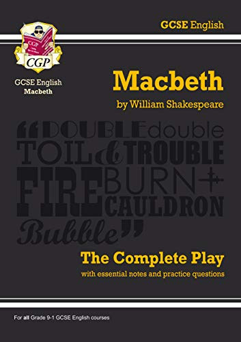 GCSE Shakespeare Macbeth Complete Play (with Notes) (Pt. 1 & 2): Shakespeare, William, Parsons,...