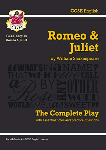 9781841461229: Grade 9-1 GCSE English Romeo and Juliet - The Complete Play (CGP GCSE English 9-1 Revision)