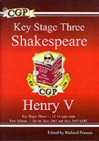 9781841461403: Key Stage Three Shakespeare: Henry V (Pt. 1 & 2)