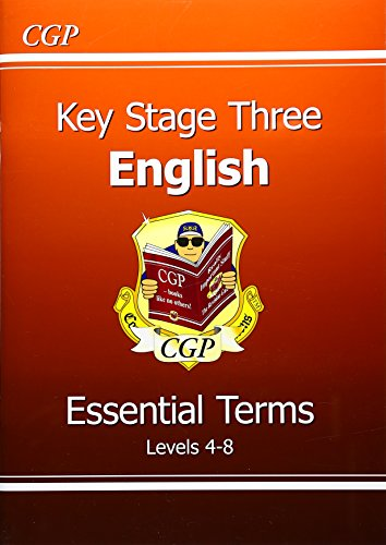 9781841461441: KS3 English Essential Terms - Levels 4-8