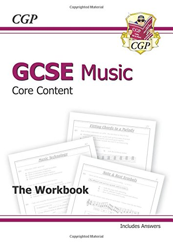 GCSE Music Core Content Workbook (Including Answers): CGP Books