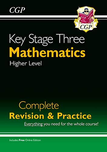 9781841463834: New KS3 Maths Complete Study & Practice (with Online Edition)