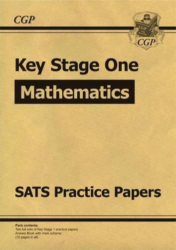 KS1 Maths SATs Purple Practice Papers - Level 2: CGP Books