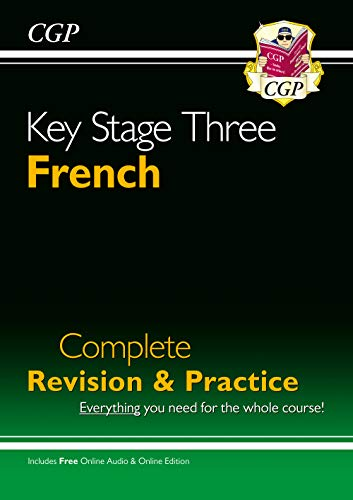 9781841464367: New KS3 French Complete Revision & Practice with Free Online Audio: perfect for catching up at home (CGP KS3 Languages)