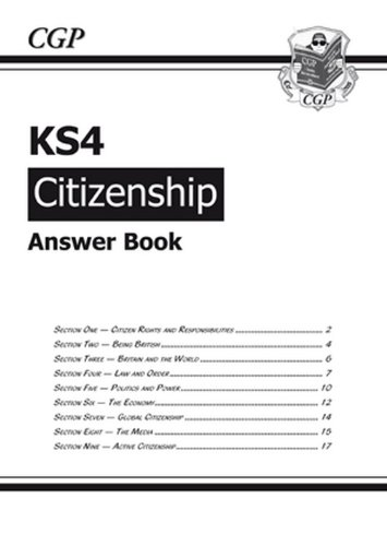 9781841464763: KS4 Citizenship Answers (for Workbook)
