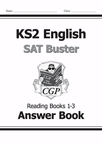 KS2 English SAT Buster Reading Answers (for: CGP Books