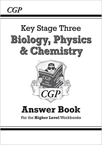 9781841465074: KS3 Science Answers for Workbooks (Bio/Chem/Phys), with online edition - Higher (CGP KS3 Science)