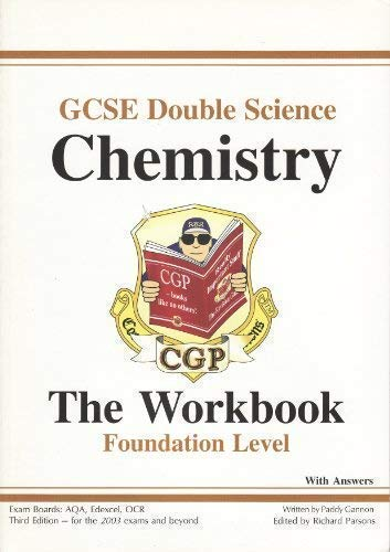 9781841465166: GCSE Double Science: Chemistry Workbook (without Answers) - Foundation