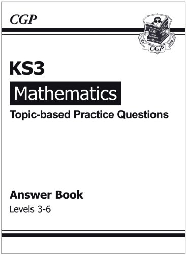 9781841465272: KS3 Maths Topic-Based Practice Answers - Levels 3-6