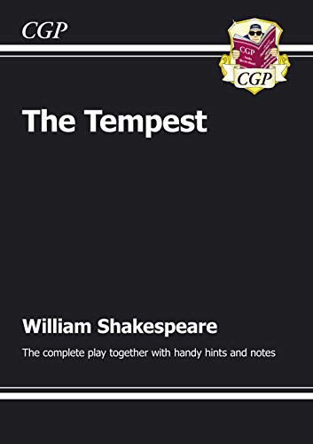 KS3 English Shakespeare The Tempest Complete Play (with notes): The Complete Play: CGP Books
