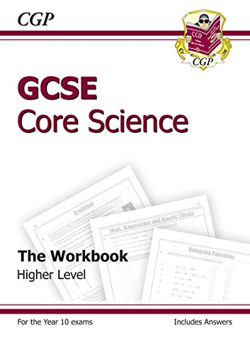 9781841465340: GCSE Core Science Workbook (including Answers) - Higher: The Workbook: Higher (Including Answers) (Workbook & Answers)