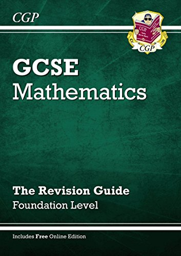 9781841465371: GCSE Maths Revision Guide (with Online Edition) - Foundation