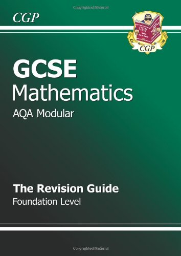 9781841465432: GCSE Maths AQA Modular Revision Guide - Foundation