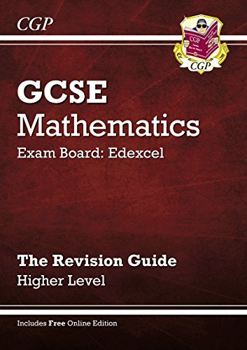 9781841465449: GCSE Maths Edexcel Revision Guide (with Online Edition) - Higher