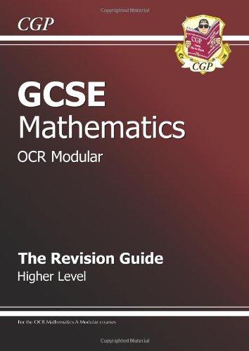 9781841465500: GCSE Maths OCR Modular Revision Guide - Higher