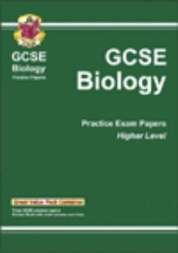 GCSE Biology: Higher Level Practice Papers Pt. 1 & 2: CGP Books