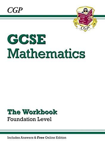 9781841466484: GCSE Maths Workbook (with Answers and Online Edition) - Foundation