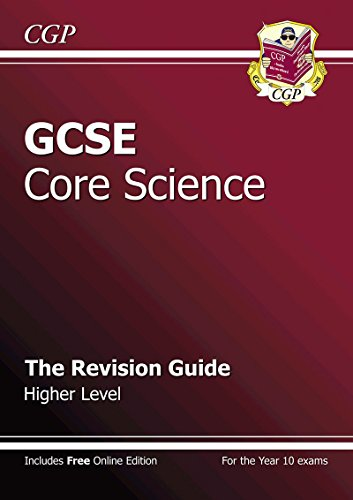 9781841467269: GCSE Core Science Revision Guide - Higher (with online edition): The Revision Guide
