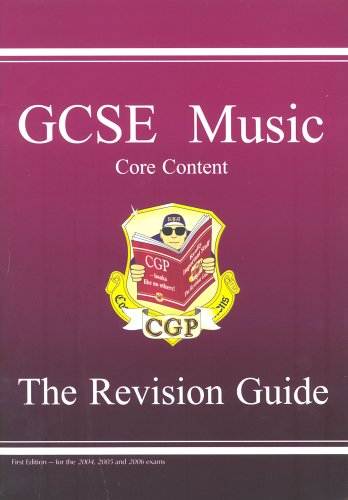 9781841467894: GCSE Core Content Music Revision Guide (music Theory): Pt. 1 & 2