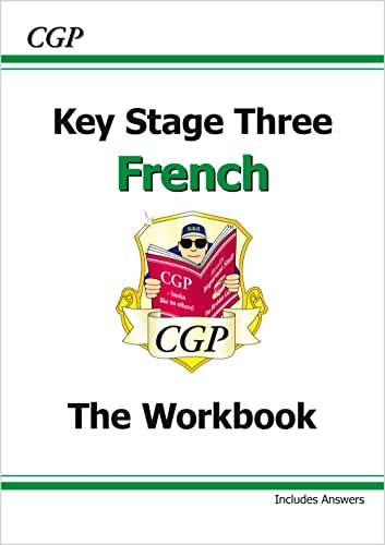 KS3 French Workbook with Answers: Workbook Pt. 1 & 2: CGP Books
