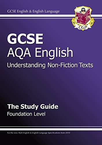 9781841468785: GCSE AQA Understanding Non-Fiction Texts Study Guide - Foundation