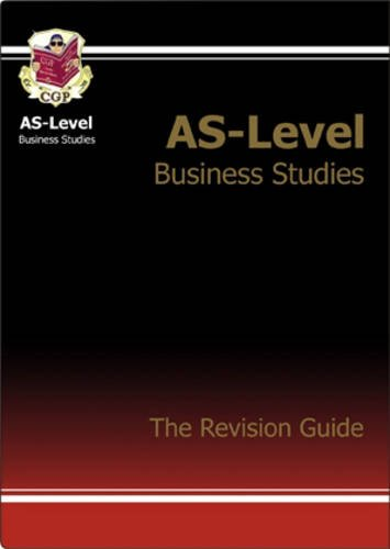 9781841469706: AS Business Studies: Revision Guide