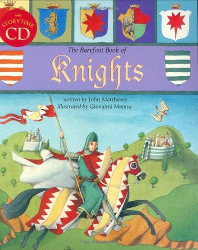 9781841482057: The Barefoot Book of Knights (Book & CD)
