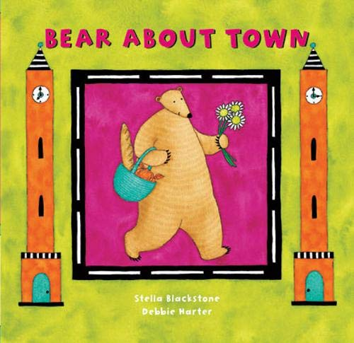 9781841483733: Bear About Town (A Barefoot Board Book)