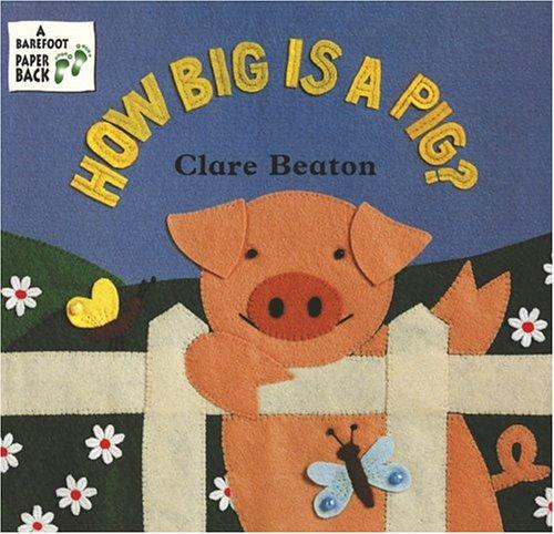 How Big Is a Pig?: Clare Beaton; Stella Blackstone